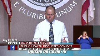 Kern County Public Health update