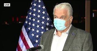 Nevada Gov. Sisolak speaking on Election Night