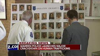 46 arrested in Warren human trafficking sting