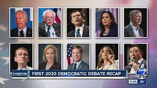 Night 2 of Democratic debates will feature Colorado's Hickenlooper, Bennet