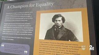 New exhibit at Frederick Douglass Park