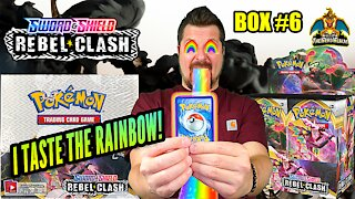 Rebel Clash Booster Case (Box 6) | Pokemon Cards Opening