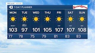 13 First Alert Las Vegas evening forecast | August 30, 2020