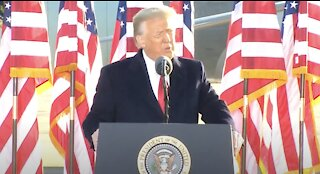 Trump Delivers FINAL Speech as President