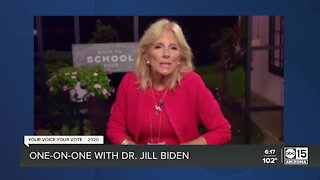 One-on-one with Dr. Jill Biden