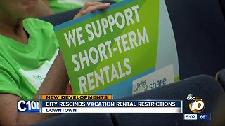 San Diego rescinds rental regulations