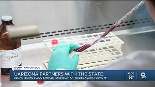 UArizona begins COVID-19 antibody testing for health care workers, first responders