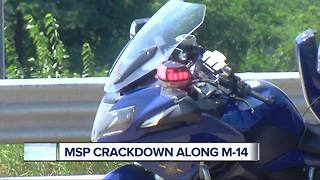 Michigan State Police cracking down on speeding and aggressive drivers