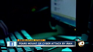 Fears mount of cyber attack by Iran