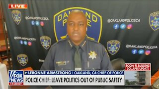 Oakland Police Chief: The People Want To See More Police!