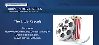 Drive-in movie series at the Hollywood Community Center