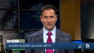 Glenn Glazer leaving WPTV