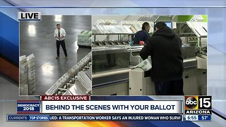 Where Arizona ballots are printed and processed
