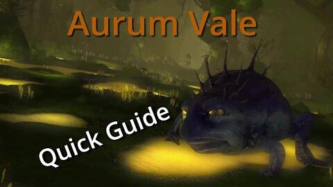Aurum Vale - Quick Guide (2020)