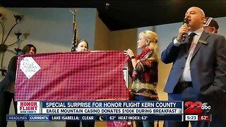 Honor Flight surprise donation
