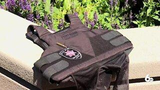 Bulletproof vests helps officer find breast cancer
