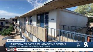 Quarantine Dorms: UArizona officials create dorms for COVID-19 positive students