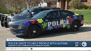 Police Departments Team Up: Autism Awareness Month