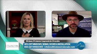 Lifetime Windows & Siding // Huge Savings & Giving Back