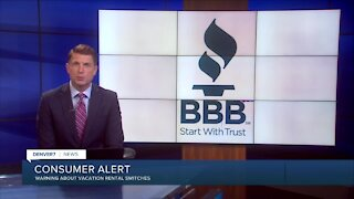 BBB warning about vacation rental scams