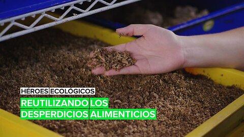 Héroes ecológicos: Reutilizando los desperdicios alimenticios