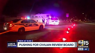 Group pushing for civilian review board for police accountability