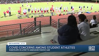COVID concerns continue among student athletes