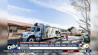 Feeding San Diego expands drive-thru distribution in Ramona