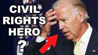 Debunking Biden's Claim of Civil Rights Movement Involvement | Larry Elder Show