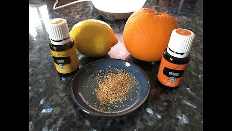 Ingesting Citrus Oils