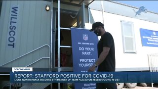 Matthew Stafford reportedly tests positive for COVID-19