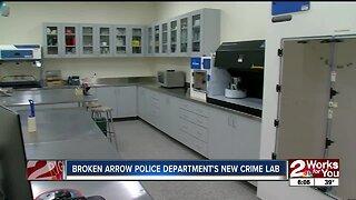 Broken Arrow Police Department reveals new crime lab