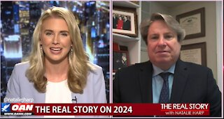 The Real Story - OAN Trump 2024 with John McLaughin