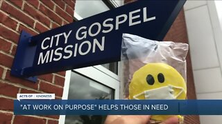 'At Work on Purpose' helps those in need