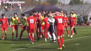 Grosse Ile's Bosh Tanyi scores state title game-winner, named Mr. Soccer in Michigan
