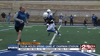 TU Holds Spring Game as QB Battle Continues