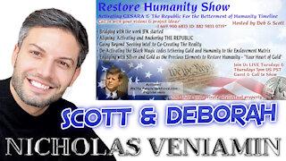 Scott & Deborah Discusses Spirituality, Guidance and Energy Field with Nicholas Veniamin