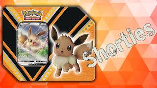 Opening a Pokemon Eevee V Powers Tin!