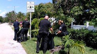 Delray Beach Police adopt a street