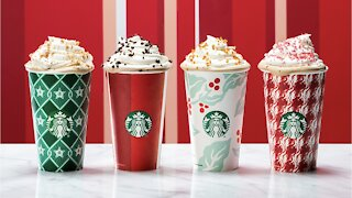 Starbucks Offering Free Reusable Holiday Cup
