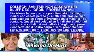 COLLEGHI SANITARI NON CASCATE NEL BLUFF DEGLI ORDINI PROFESSIONALI - 2021.04.03 - SDM#61