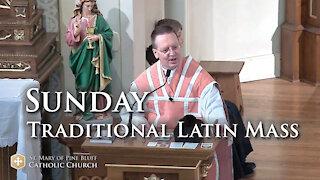 Sermon for Laetare Sunday, March 14, 2021 (TLM)