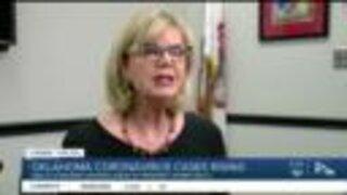 Coronavirus Cases in Tulsa County Rising