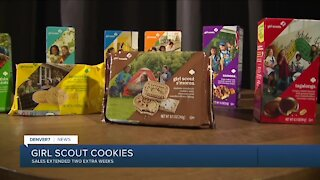 Gril Scout cookie sales extended