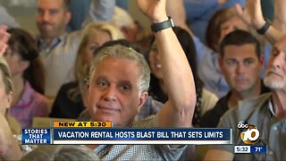 Vacation rental owners blast bill that could set limits