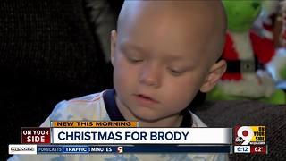 Team Brody celebrates Christmas early