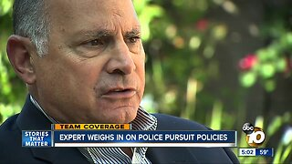 Expert weighs in on police pursuit policies