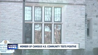 Member of Canisius High School community tests positive for COVID-19