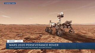 Colorado companies involved in Mars 2020 Perseverance rover
