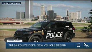 Tulsa Police Department debuts new vehicle design